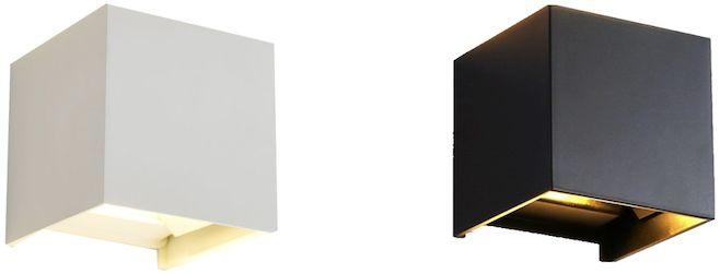 Magic Cube - kinkiet LED 6W - lampa ścienna - oświetlenie elewacji ponad 20 efektów