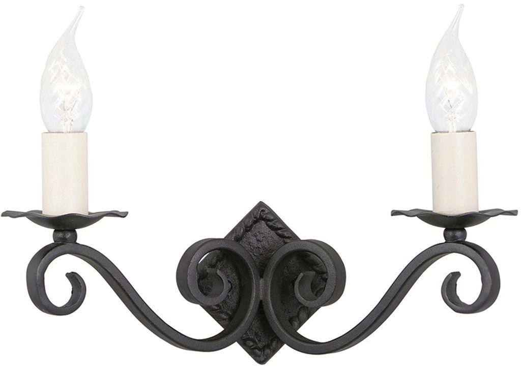 Rectory Black - Elstead Lighting - kinkiet klasyczny