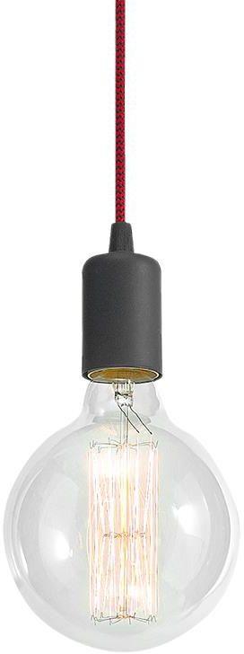 Lampex Modern 1 350/1 lampa wisząca nowoczesna ozdobny przewód zasilający 1x60W E27 13cm