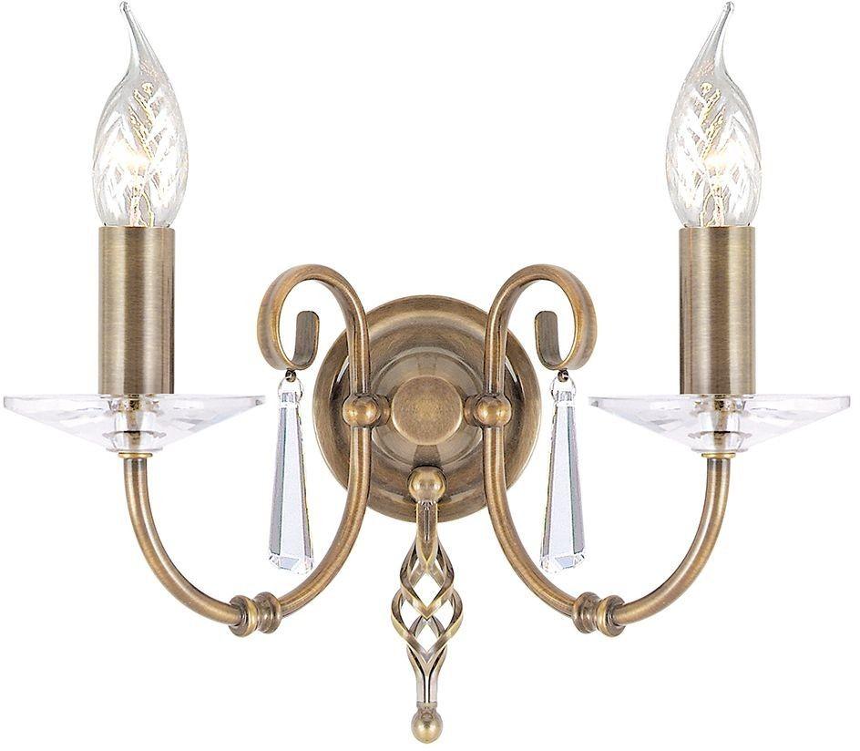 Aegean Aged Brass - Elstead Lighting - kinkiet klasyczny