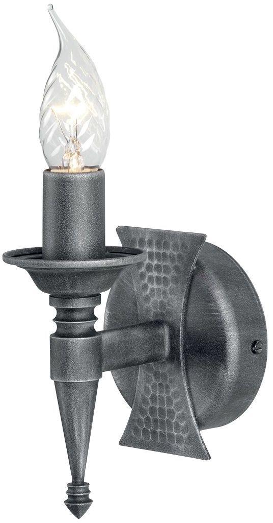 Saxon Black And Silver - Elstead Lighting - kinkiet klasyczny