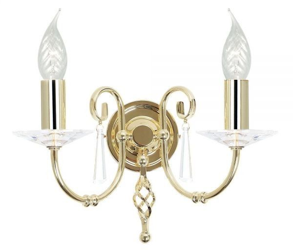 Aegean Polished Brass - Elstead Lighting - kinkiet klasyczny