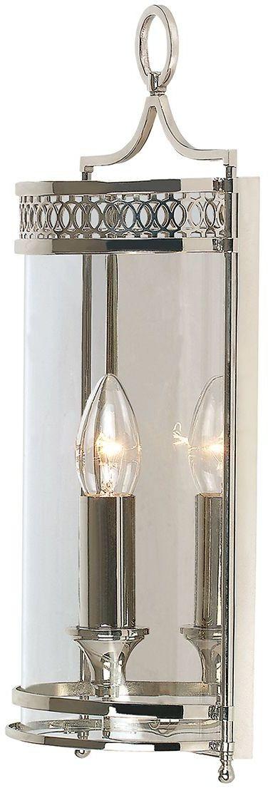 Guildhall Polished Nickel - Elstead Lighting - kinkiet klasyczny