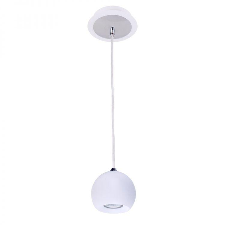 Lampa wisząca biała kula James White FH5951-BCB-120 WH Italux