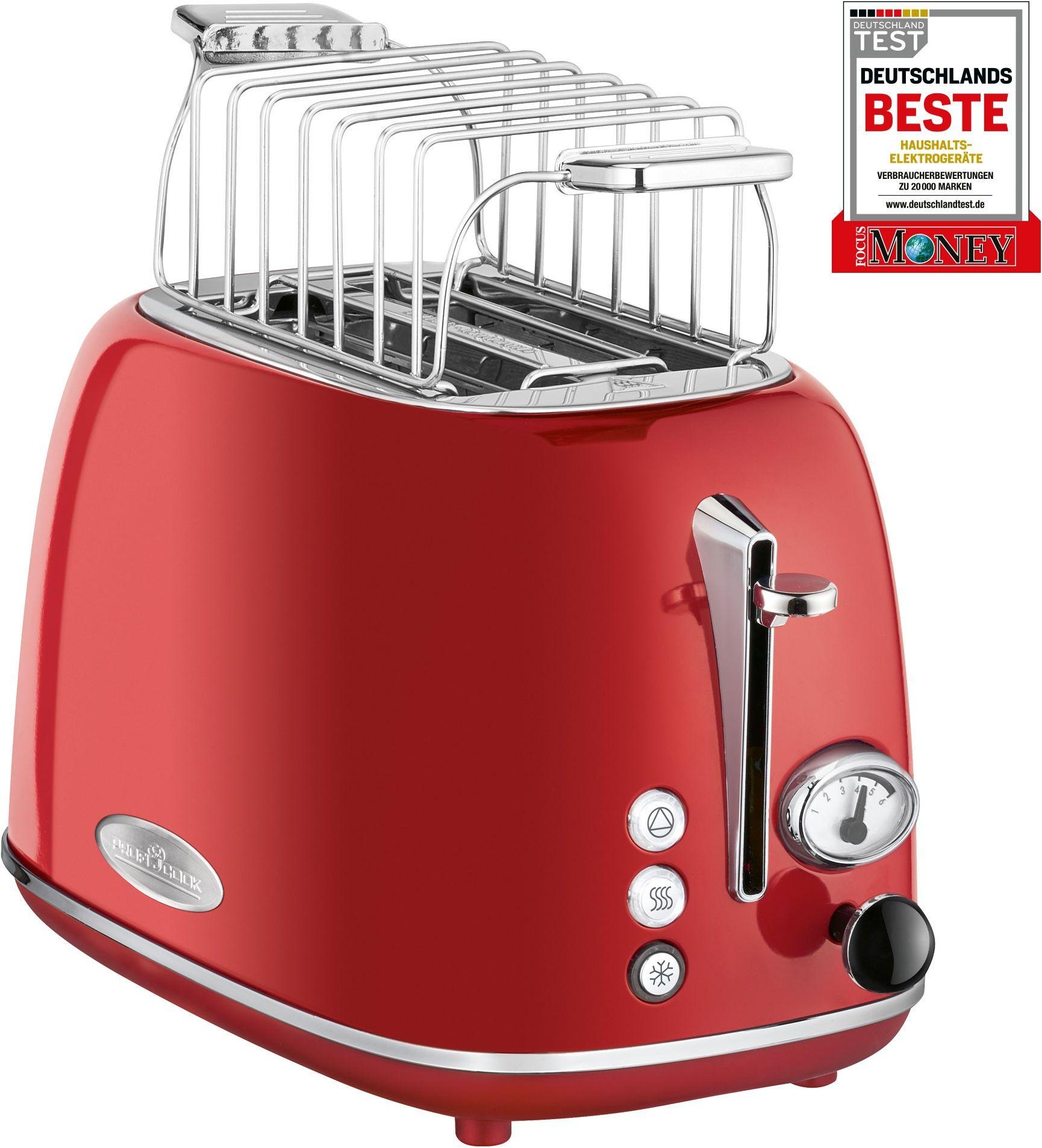 Toster ProfiCook PC-TA 1193 (czerwony)