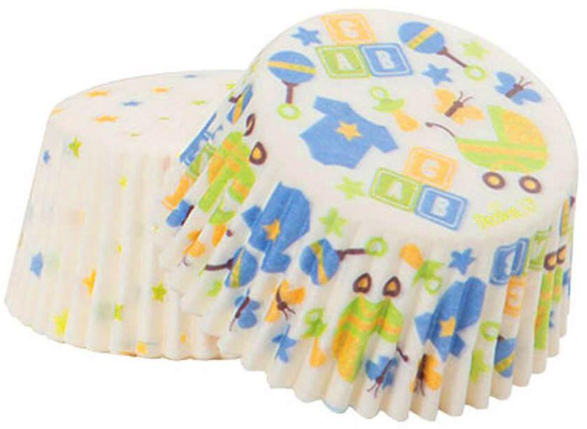 Foremki urodzinowe na babeczki Baby Shower - 36 szt.