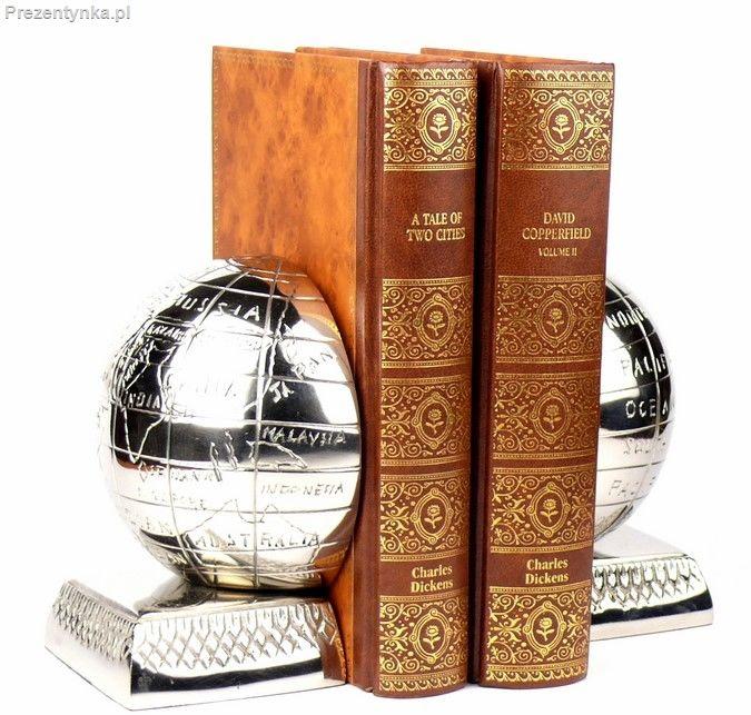 Bookend Podpórki do książek Globy