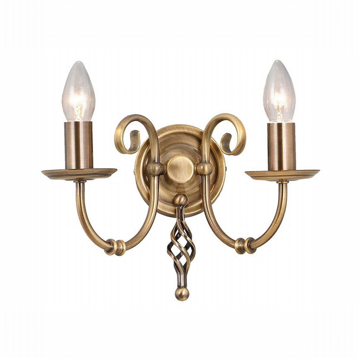 Artisan Aged Brass - Elstead Lighting - kinkiet klasyczny