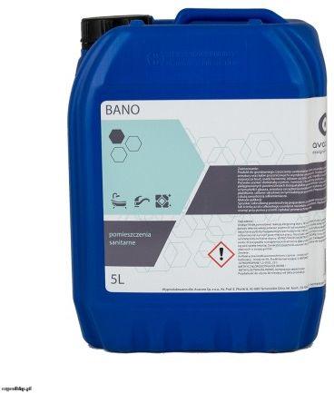 Zasadowy środek do czyszczenia sanitariatów AVALAB FORCA BANO 5l