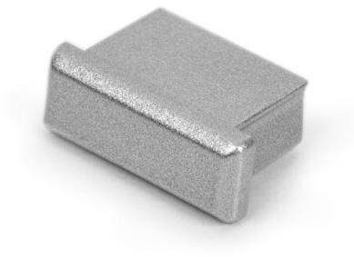 Zaślepka do profilu micro - metalizowana
