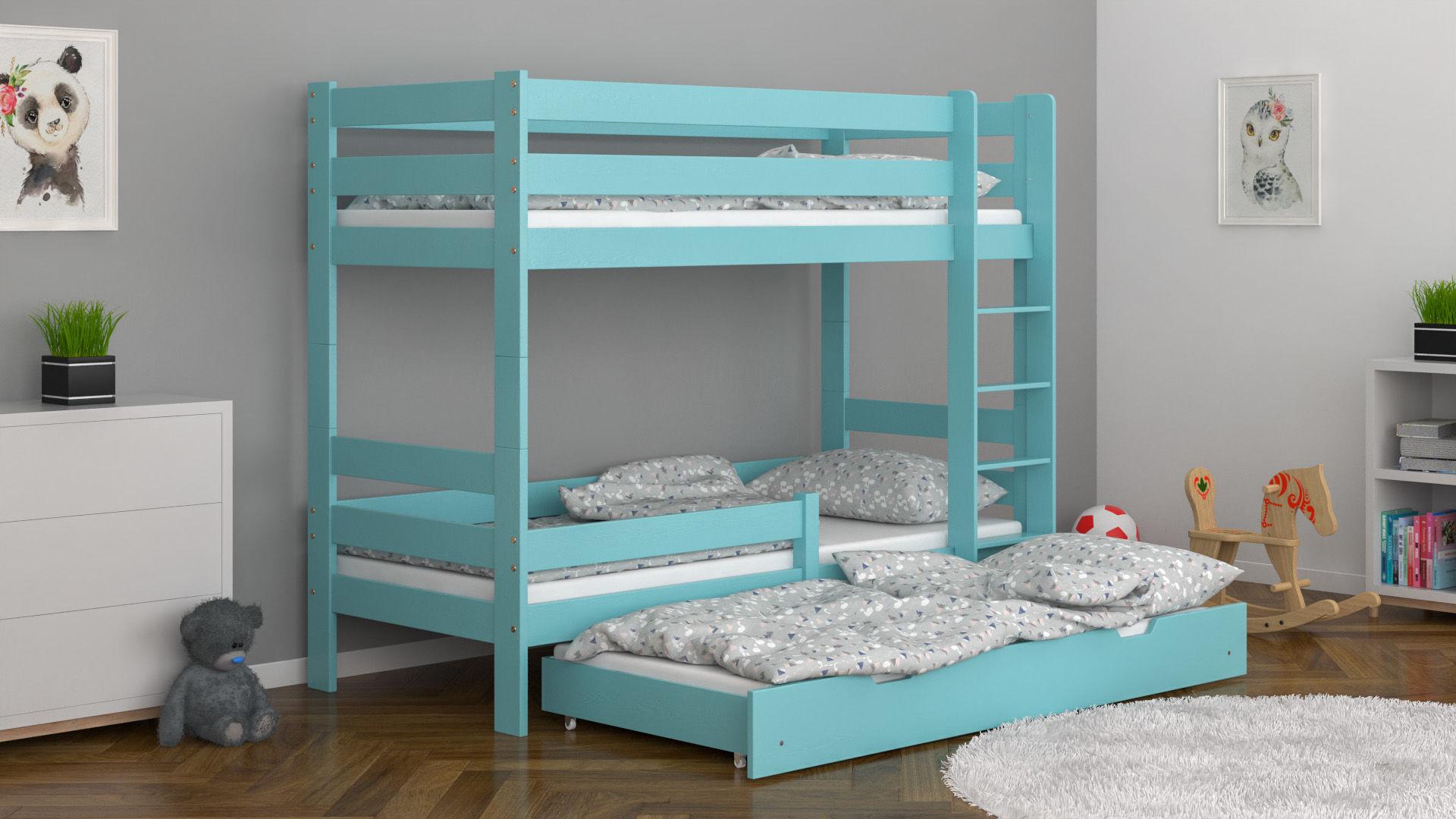 Łóżko piętrowe dla dzieci Sophie Trio