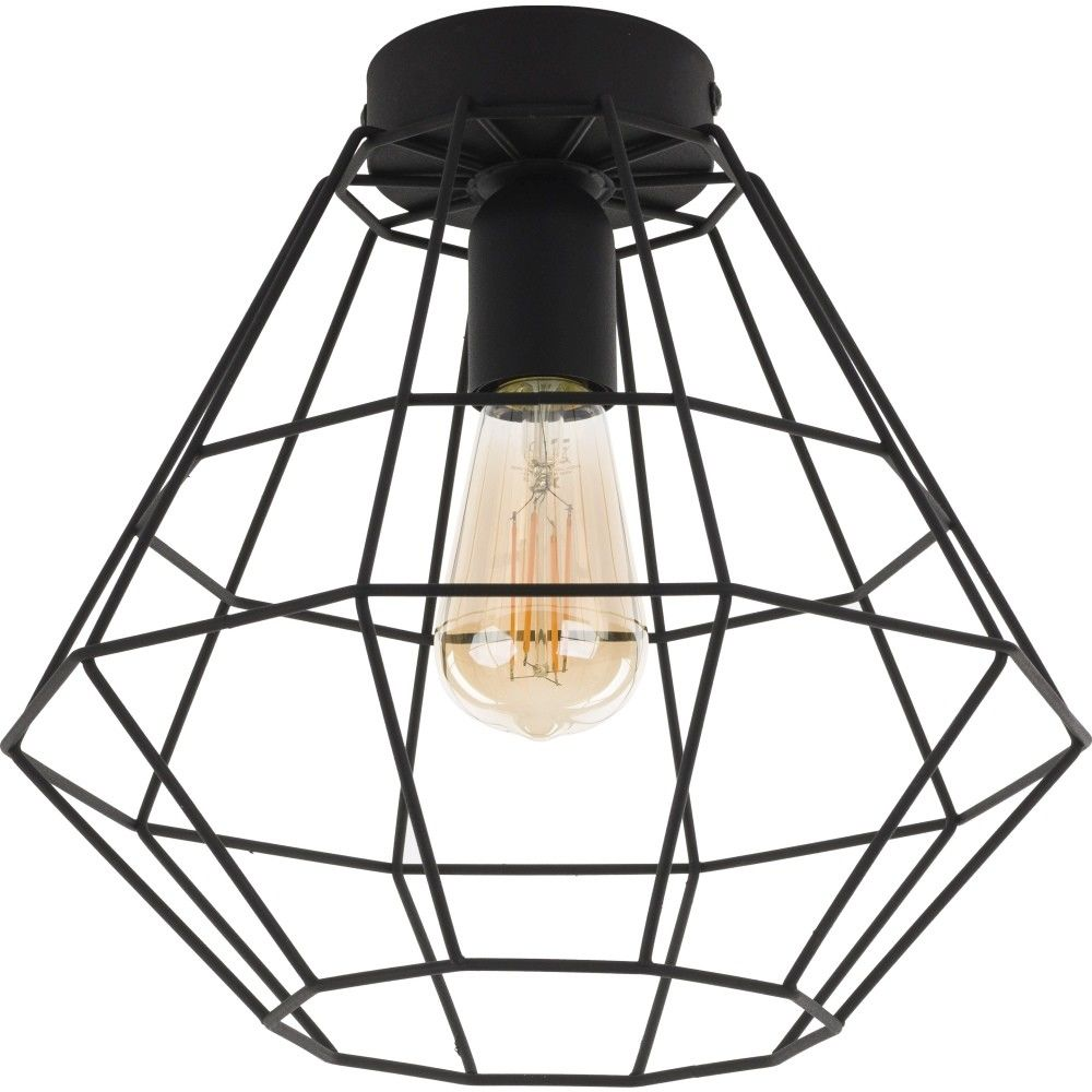 Lampa Sufitowa Diamond Black Maxi TK Lighting