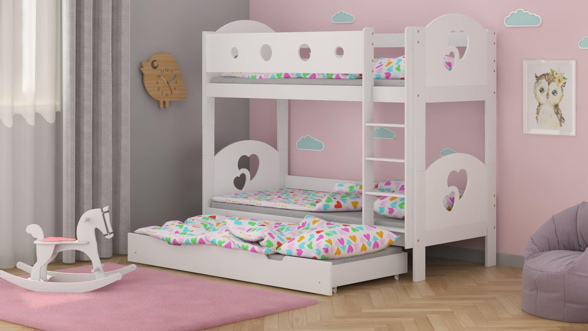 Łóżko piętrowe Dream Trio
