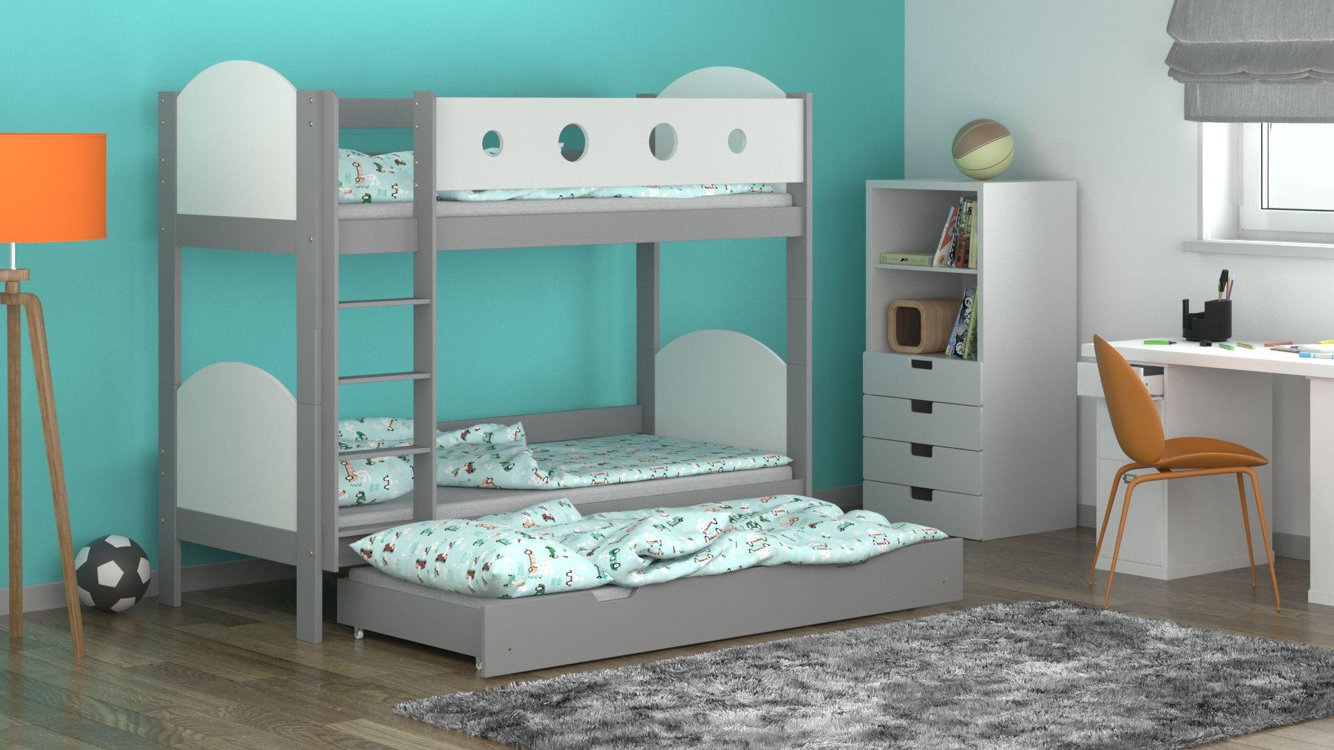 Łóżko piętrowe Toms Trio