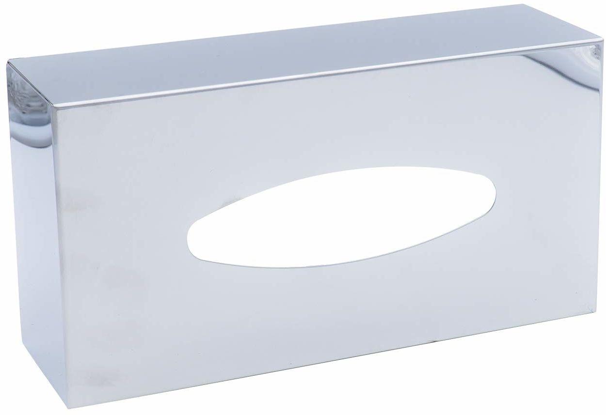 Ridder Classic pudełko na chusteczki papierowe, stal nierdzewna, polerowana, ok. 26 x 13,5 x 7,8 cm