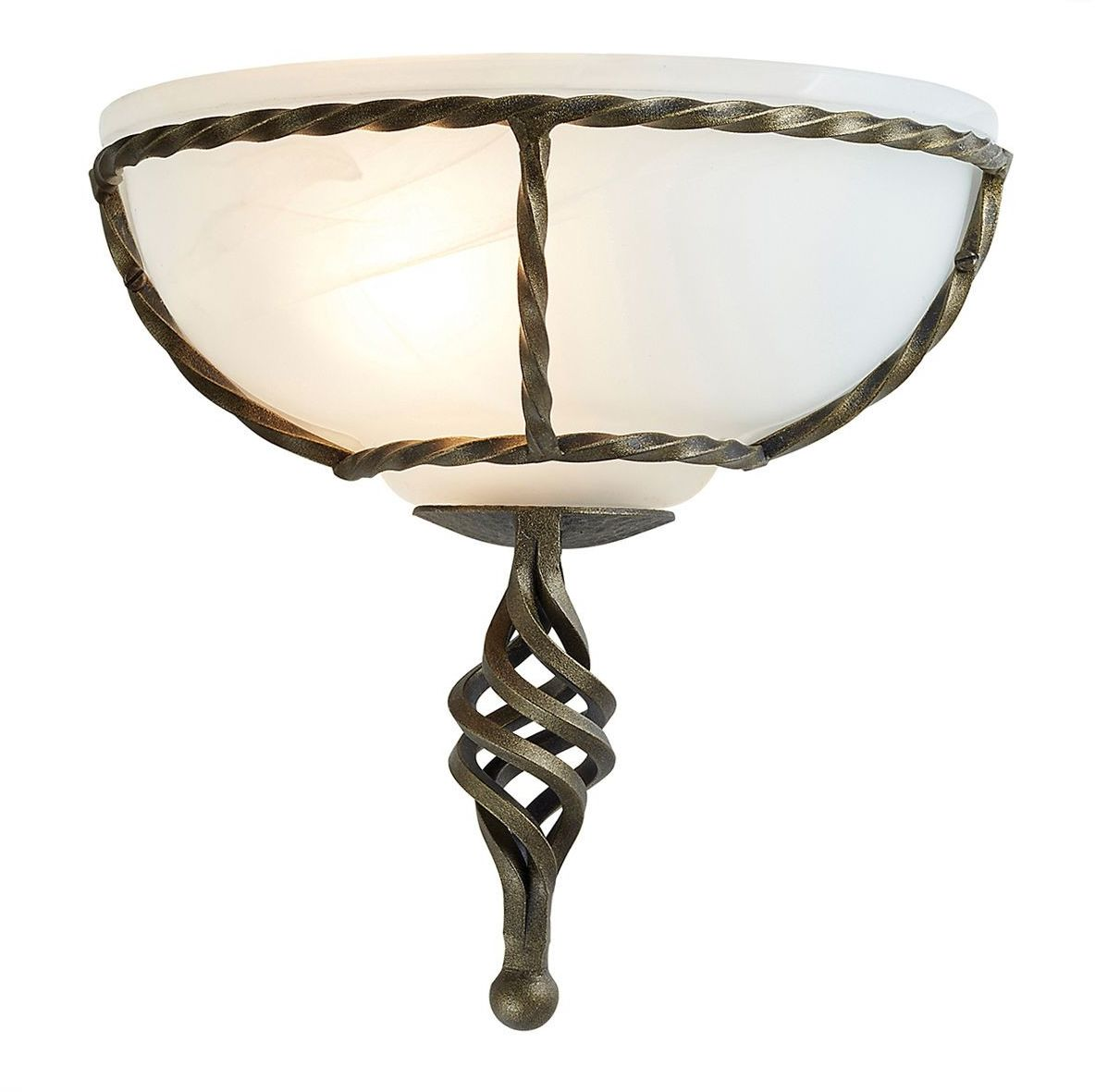 Pembroke Black And Gold - Elstead Lighting - kinkiet klasyczny