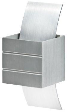 Kinkiet Vidal AZ0862 AZzardo aluminiowa oprawa w nowoczesnym stylu