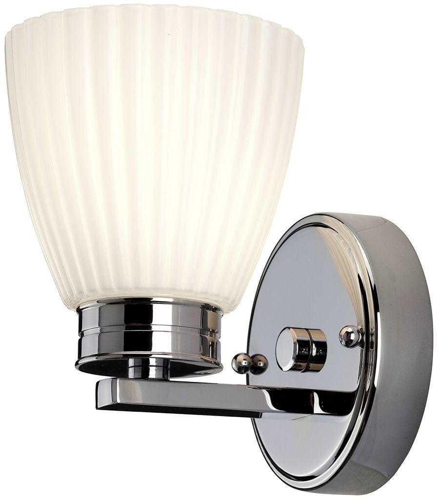 Wallingford Led Polished Chrome - Elstead Lighting - kinkiet łazienkowy