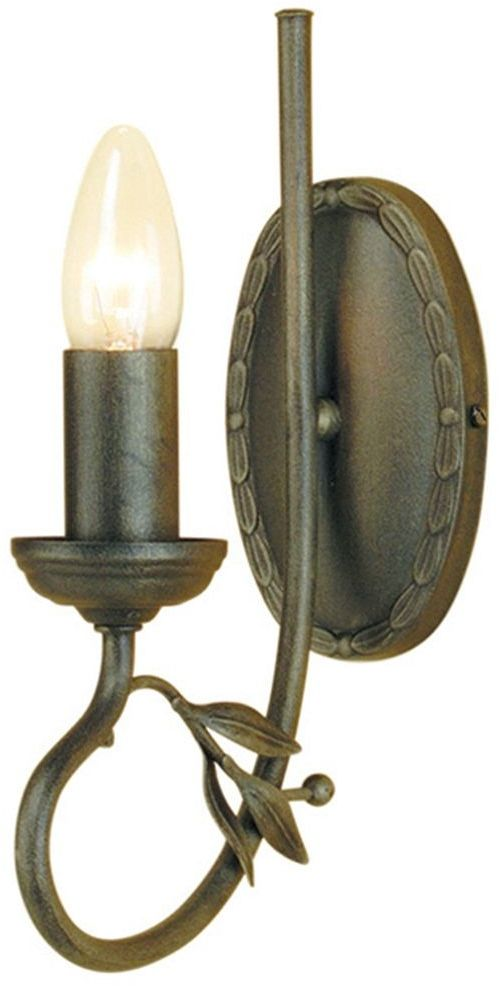 Olivia Black And Gold - Elstead Lighting - kinkiet klasyczny