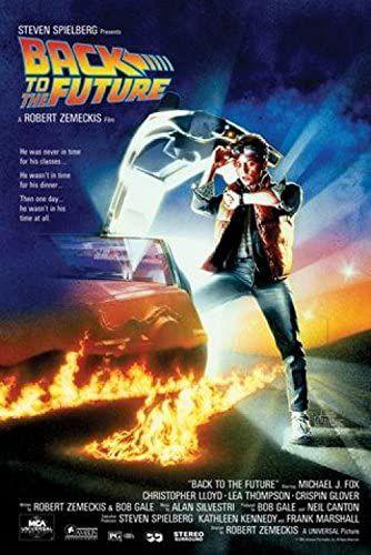 Powrót w przyszłości - Michael J Fox, Christopher Lloyd plakat