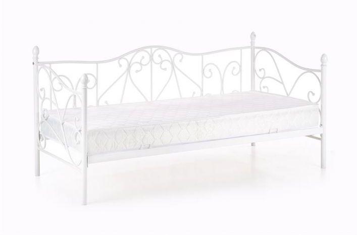 Łóżko SUMATRA 90x200 białe do sypialni Halmar  KUP TERAZ - OTRZYMAJ RABAT