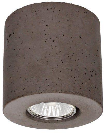 Lampa sufitowa Concrete Dream 5 W betonowa kolor szary 2566136