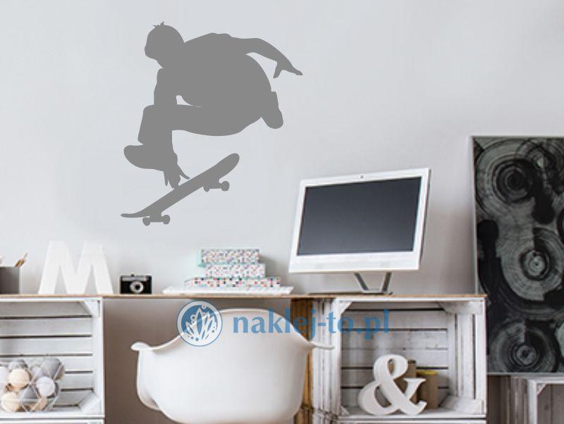 naklejka Skejter 2 naklejka na ścianę