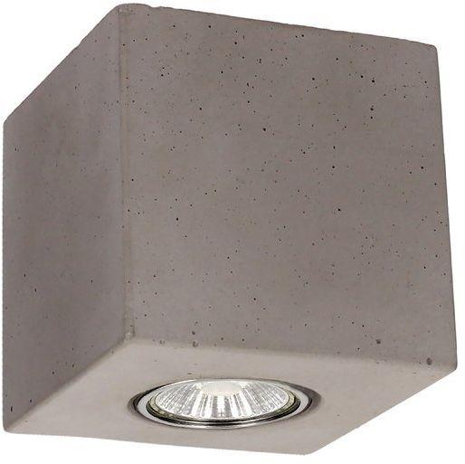 Lampa sufitowa Concrete Dream 5 W betonowa kolor szary 2576136