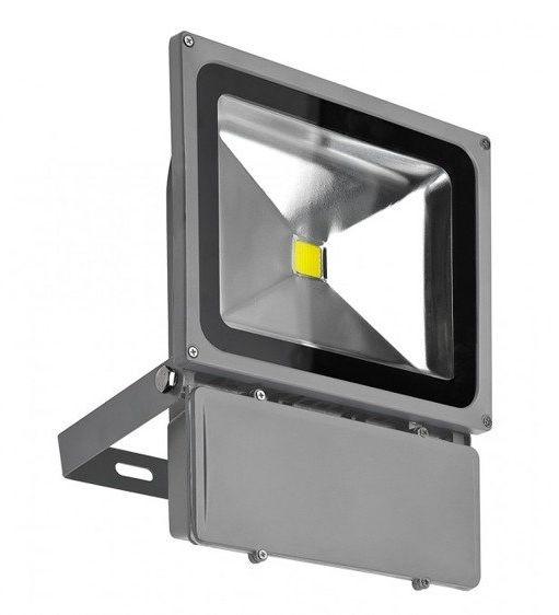 Naświetlacz LED 80W BGR SZARY IP65 AZ1201 - Azzardo