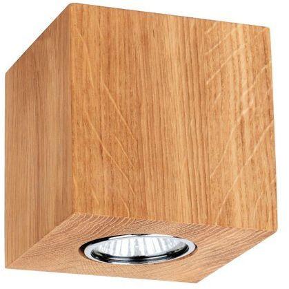 Lampa sufitowa WOODDREAM 5 W drewno dębowe kolor dąb olejowany 2576174