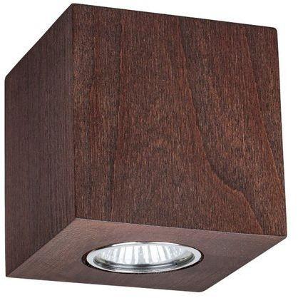 Lampa sufitowa WOODDREAM 6 W drewno bukowe w kolorze orzech 2076176