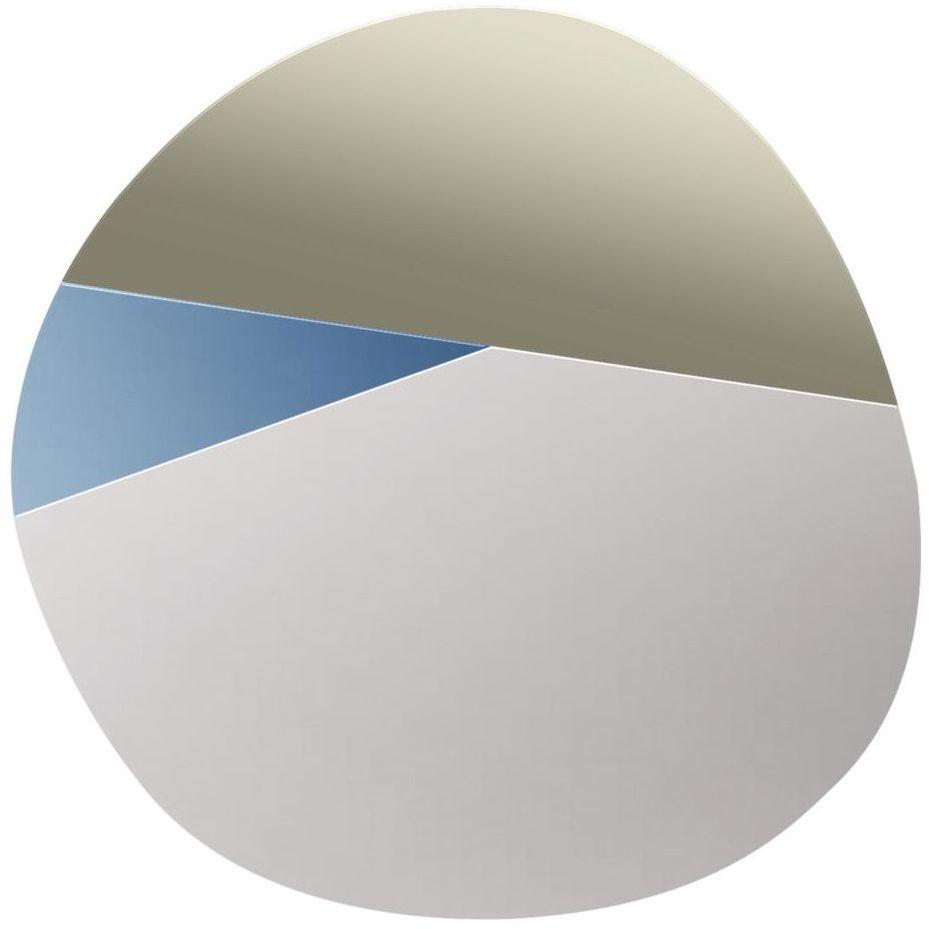 Lustro dekoracyjne bez ramy Veida 30 x 30 cm