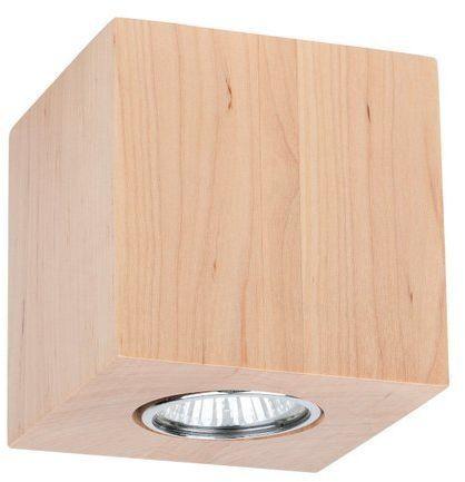 Lampa sufitowa WOODDREAM 6 W drewno brzozowe kolor brzoza 2076160