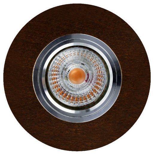 Lampa sufitowa VITAR WOOD oczko sufitowe wpuszczana drewno bukowe orzech 2511176