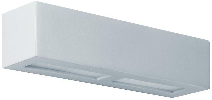 Lampex Rossi 40 684/40 POP kinkiet lampa ścienna designerskie popiel ceramika szkło 1x60W E27 42cm