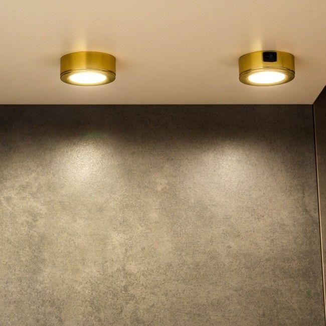 Lampa podszafkowa LED Colours Esmo 3 x 2,5 W gold