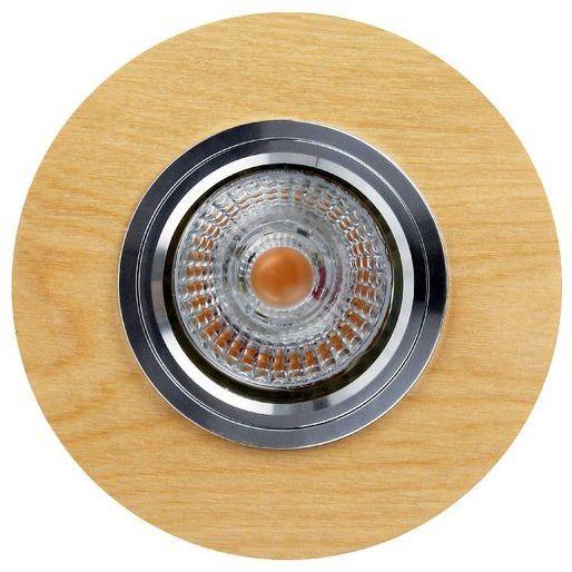 Lampa sufitowa VITAR WOOD oczko sufitowe wpuszczane drewno dębowe dąb olejowany, 2515174