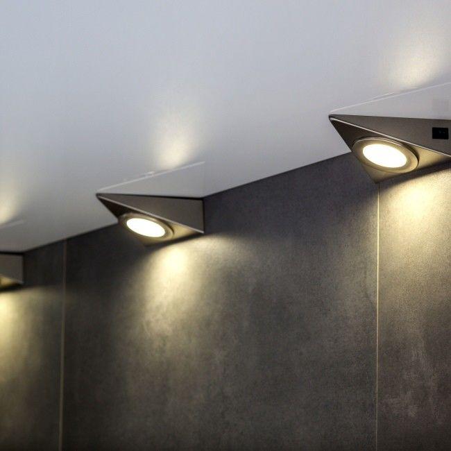 Lampa podszafkowa LED Colours Esmo 3 x 2,5 W brown/chrom