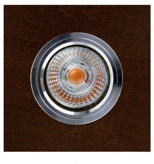 Lampa sufitowa VITAR WOOD oczko sufitowe wpuszczane drewno bukowe w kolorze orzech, 2515176