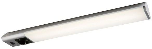 Lampa podszafkowa LED Colours Balta 1 x 12 W srebrna z gniazdem
