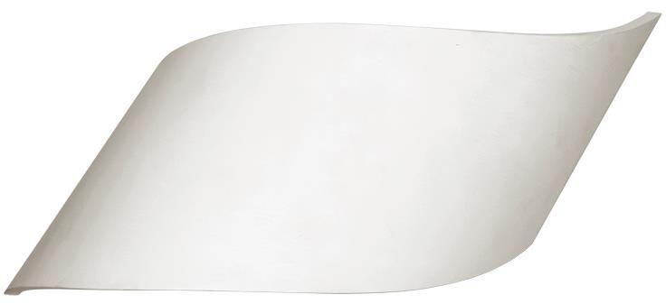 Lampex Alan 703/1 BIA kinkiet lampa ścienna nowoczesny gips G9 2x40W 40cm