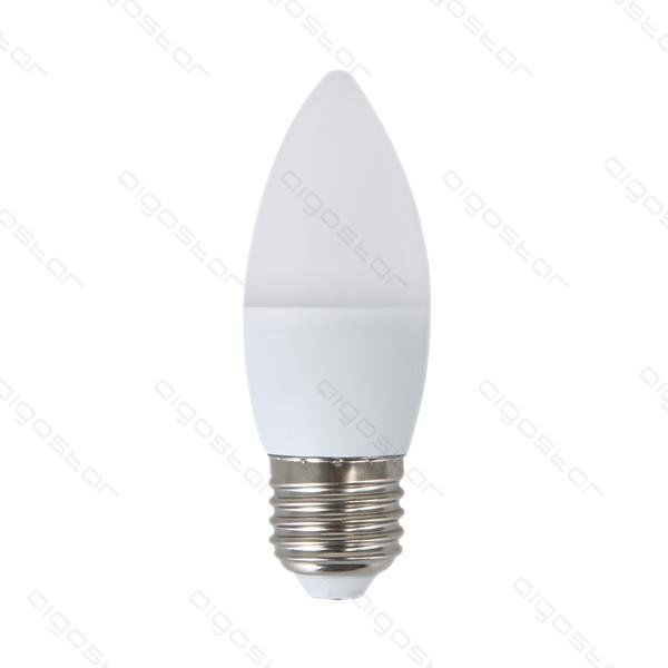 Żarówka LED E27 C37 świeczka 7W ciepła 3000K