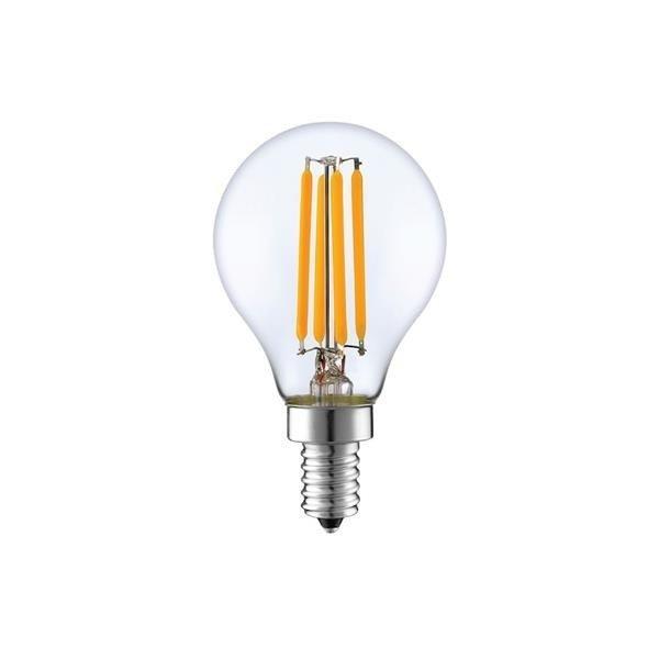 Żarówka ozdobna Filament LED E14 G45 4W ciepła 2700K