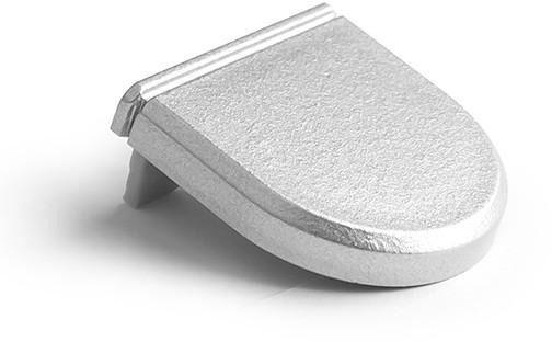 Zaślepka do profilu gil - metalizowana gil