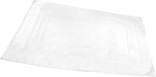FRANDIS Dywanik do bagażnika, zestaw łazienkowy bawełna 50 x 70 cm biały