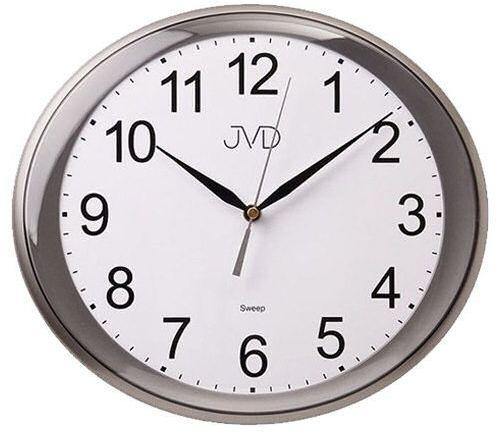Zegar ścienny JVD HP664.2 Owalny Cichy mechanizm