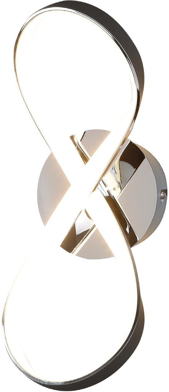 Maxlight INFINITY W1590 kinkiet lampa ścienna metalowa skręcona oprawa nowoczesna 3000K 1x9W LED 35cm