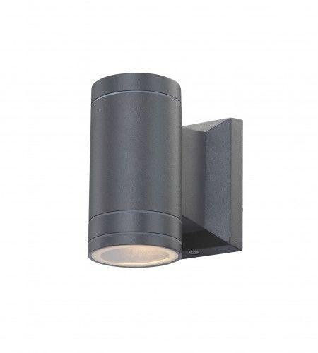 Globo kinkiet lampa ścienna Gantar 32028 antracyt LED 5W 3000K IP44