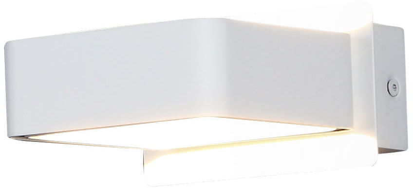Maxlight Tokyo II W0168 kinkiet lampa ścienna metal biały 1x4,5W LED 3000K 12cm