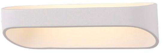 Maxlight Zafira I W0163 kinkiet lampa ścienna metalowa biała 12x0,5W LED 3000K 25cm